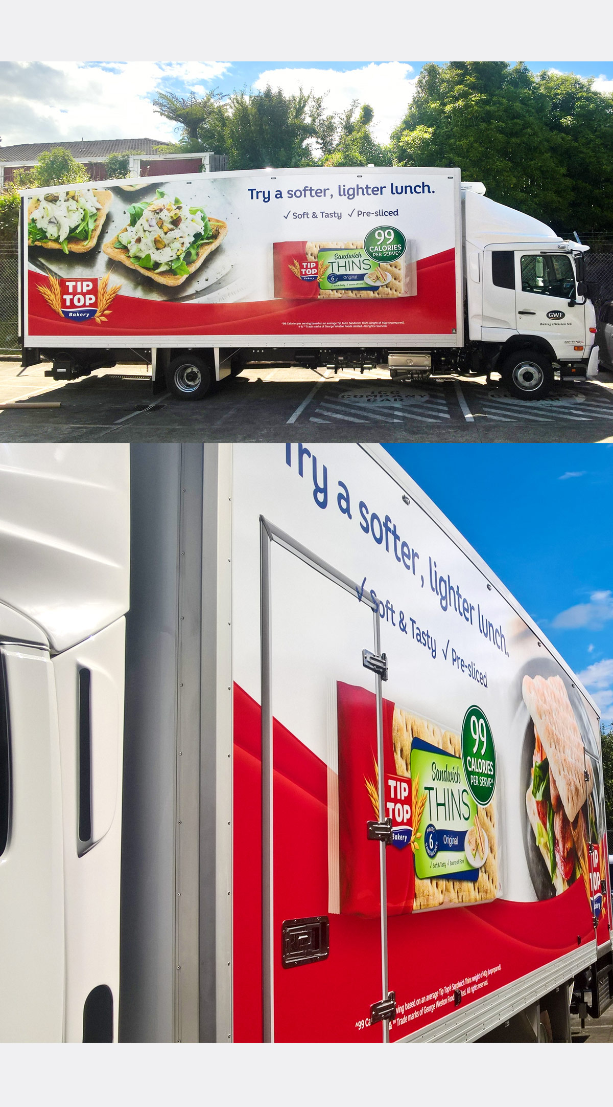 Trucks in tip-top shape