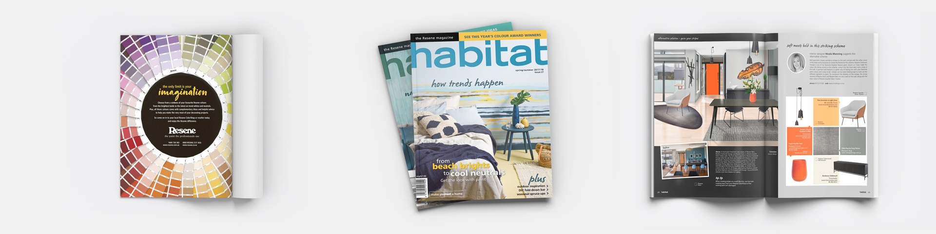 Habitat - A colorful magazine by Resene