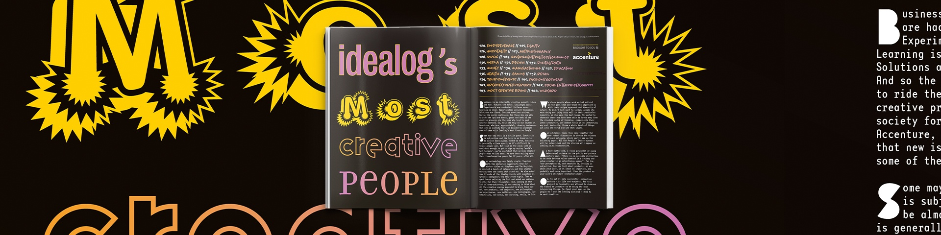 Finding and celebrating NZ's most creative people