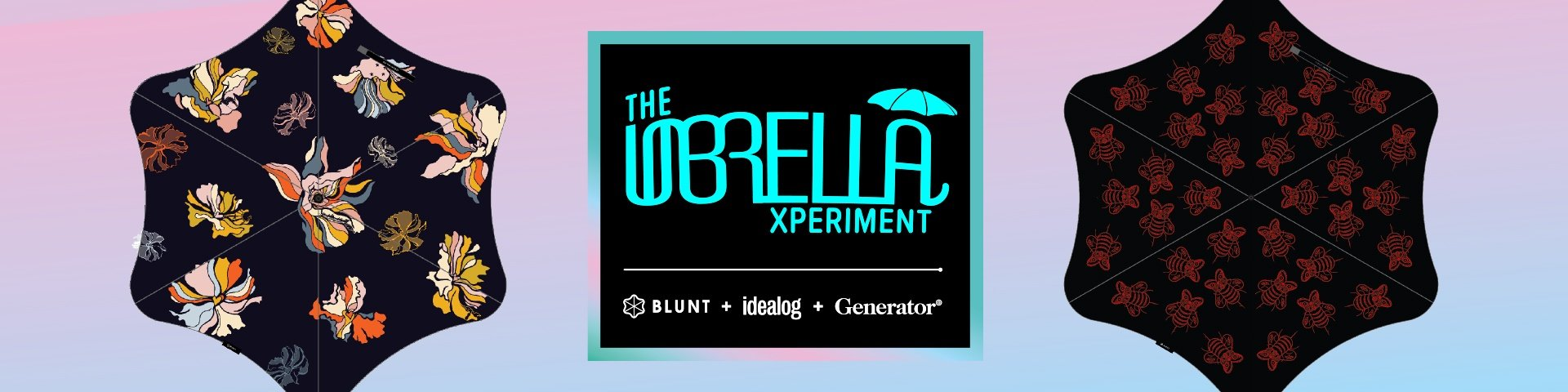 The Idealog + Blunt + Generator Umbrella Experiment